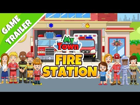 My Town : Fire station Rescue APK Cover