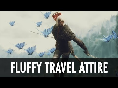Skyrim Mod Spotlight: Fluffy Travel Attire