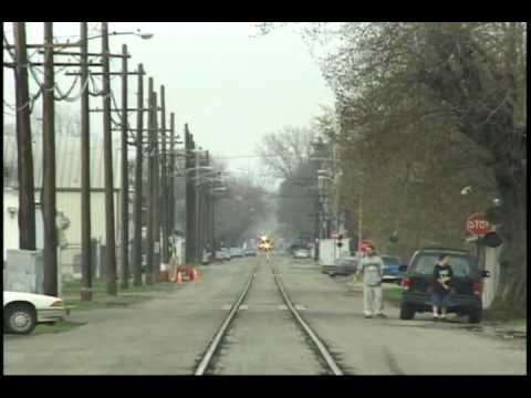 NS Train Action,  19th Street Running Erie, PA