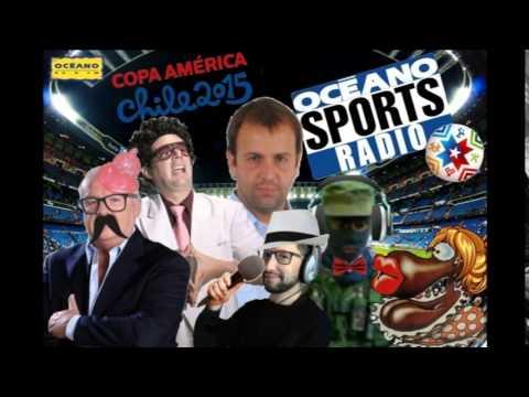 Océano Sports Radio 22/06/2015