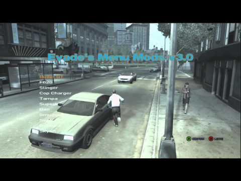 Grand Theft Auto IV Script Mods 3.0 (Xbox 360) [IV] Mod Menu + Tutorial