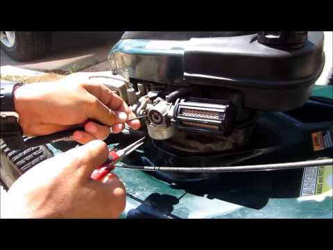 How To Replace Craftsman Lawn mower Primer Bulb DIY  fix