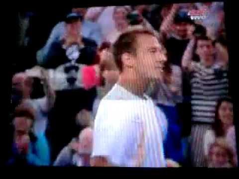 Rosol VS Nadal R2 Wimbledon 2012