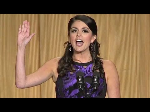 Cecily Strong at the 2015 White House Correspondents' Dinner