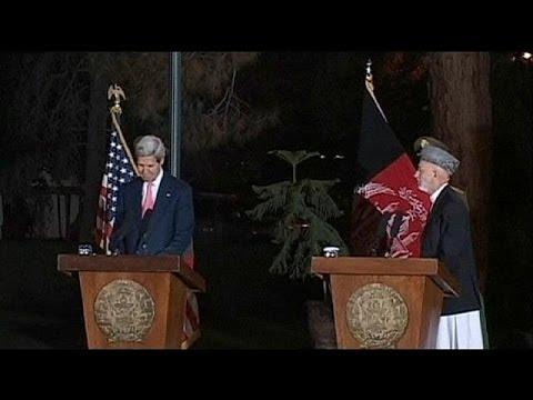 Kerry und Karzai erzielen nur Teileinigung über Sicherheitsabkommen