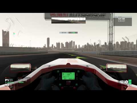 Project CARS - Formula 1 - Dubai Autodrome #2 - Visão Cockpit 01/06/2015