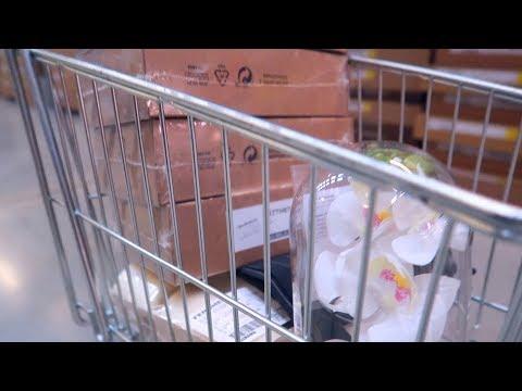 VLOG: НАКУПИЛИ ПОЛНУЮ ТЕЛЕГУ В IKEA! 16.04.18
