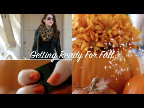 Getting ready for fall youtube for Getting ready for fall