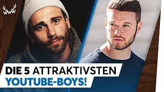 Die 5 attraktivsten YouTube-Boys! | TOP 5