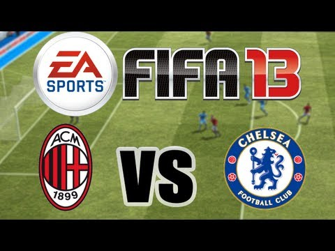 FIFA 13 - iPhone/iPod Touch/iPad - Gameplay HD (AC Milan vs. Chelsea FC)