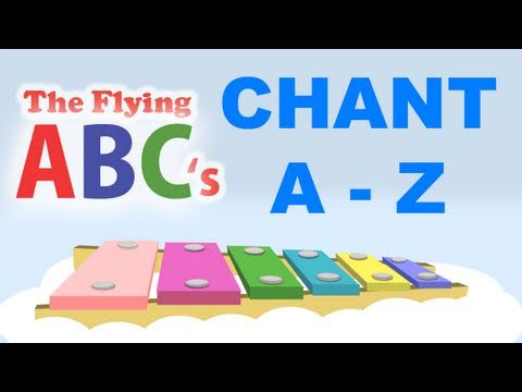 The Flying Abc's Full Alphabet Chant A To Z video