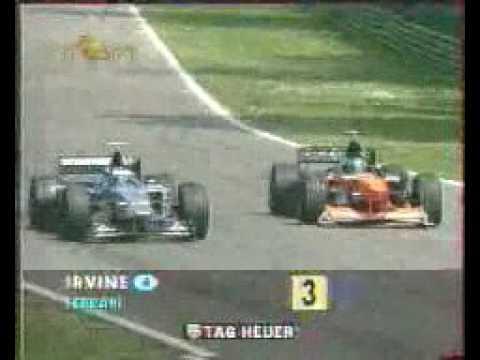 Formula 1 - 1999 - San Marino - Marc Gene vs Toranosuke Takagi.