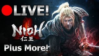 [Archive]LIVE 🔴 Nioh / Splatoon 2 / Super Mario Kart 8 Deluxe / Super Smash Bros Ultimate - 2/15/19