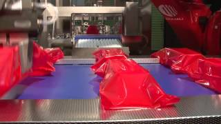 Saccardo bag machine line meets Bemis film