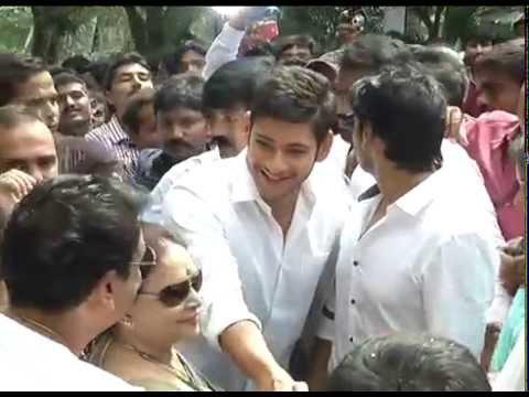 Naresh Son Movie Opening - Mahesh Babu,super Star Krishna video