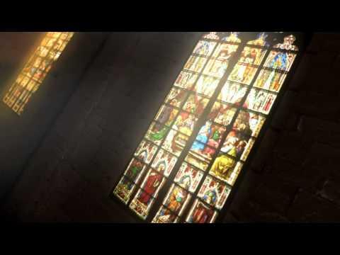 Cathedral Corridor - Blender Game Engine
