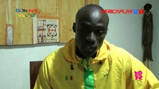 "JO 2012/Ndiss Kaba Badji: ""L'objectif à Londres? Le Podium"""