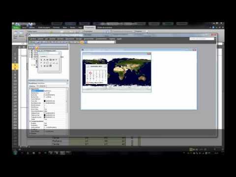 Programación en Excel 2010 Cómo hacer un calendario emergente
