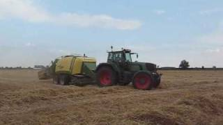Fendt 926 Vario & Krone Big Pack