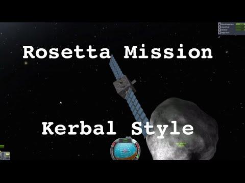 Kerbal Space Program - Rosetta
