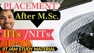 Placements After M.Sc. From IITs / NITs |