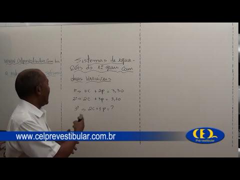 SISTEMAS DE EQUAÇÕES 1° GRAU COM DUAS VARIÁVEIS.mpg