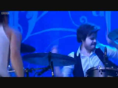 Spencer Smith drumming at Reading Festival 2011