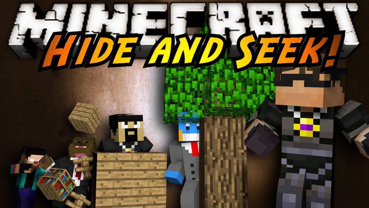 Minecraft Mini Game HIDE AND SEEK YouTube