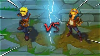 EZREAL ALL SKINS Old VS New Comparison Rework - League of Legends