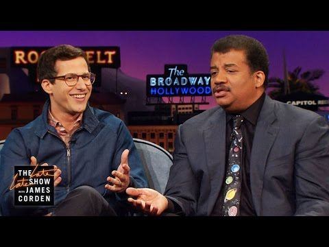 Andy Samberg's Three Questions for Neil deGrasse Tyson
