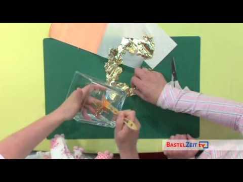 Bastelzeit TV 53 - Veredeln Mit Blattmetall Von KnorrPrandell
