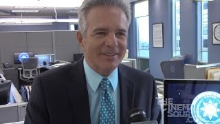 Major Crimes: Season 3 Set Visit - Tony Denison Exclusive Interview
