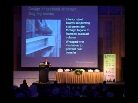 """CTBUH 2008 Dubai Congress - Krall, Callow, """"A Statement in Steel: The New York Times Buildings"""""""