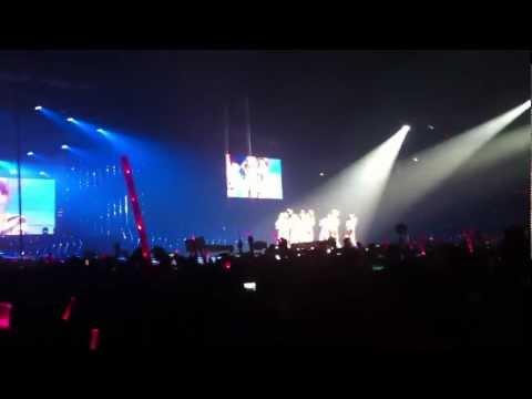 120212 SNSD GIRLS GENERATION TOUR' In Bangkok (Fancam) GEE
