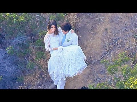 EXCLUSIVE - Ian Somerhalder And Nikki Reed Tie The Knot At Surprise Fairytale Wedding
