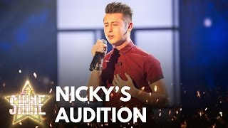 Nicky Price performs 'Say Something' - Let It Shine - BBC One