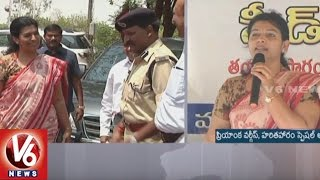 Collector Amrapali And Priyanka Varghese Launches Seed Ball Program In Warangal || V6 News