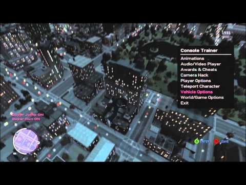 Grand Theft Auto 4 + DLC Mod Menu Xbox 360+ Download Link