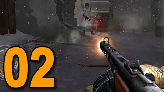 Call of Duty 2 - Part 2 - DESTROY THE TANKS!