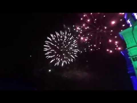 Kovo 11-osios kulminacija Kaune: apšviestas Soboras ir fejerverkas