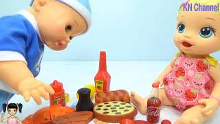 Thơ Nguyễn - Đồ chơi nhà bếp cho bé