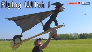 FLYING WITCH ! ...and Mr Plod and a Flying Carpet (RC, radio controlled)