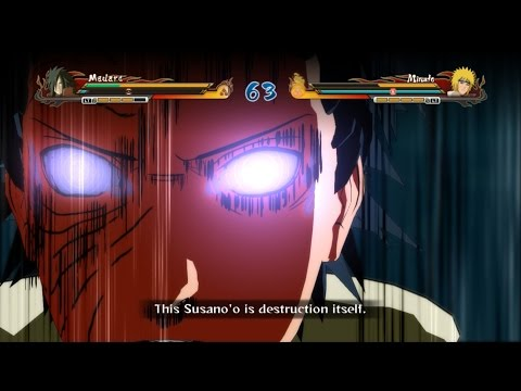 Naruto Shippuden Ultimate Ninja Storm Revolution - Obito (madara) Vs Minato video