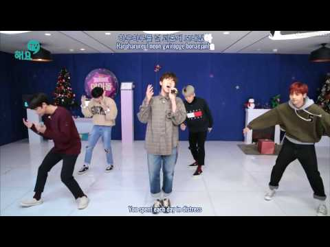 B1A4 - A Lie [Haeyo TV] (16.12.13) {Hangul, Romanization, Eng Sub}