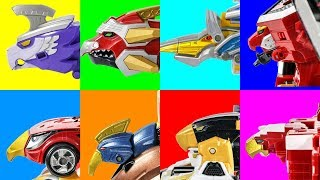 Wild birds PowerRangers DinoCharges Jungle Animal MegaForce BladeForce BeastGuardian Transformation