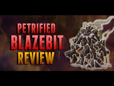Petrified Blazebit Review - Miscrits SK