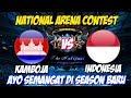LIVE ARENA KONTES !! SEASON BARU SEMANGAT BARU - INDONESIA VS KAMBOJA | Mobile Legends 04 April 2018 MP3