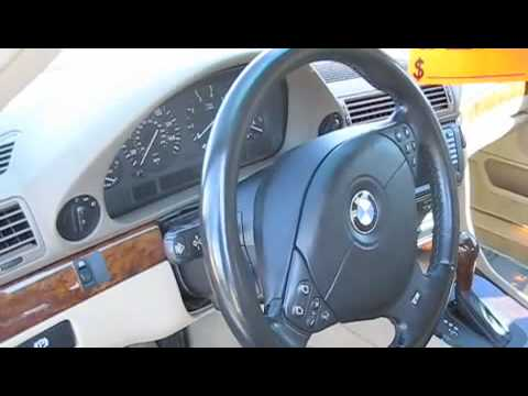2001 BMW 740i Start Up. Engine. and Full Tour