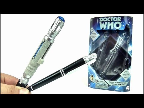 DOCTOR WHO Sonic Screwdriver & Sonic Pen (International Re-Release) Set Review | Votesaxon07