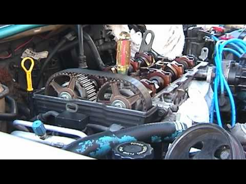 Mazda 626 Timing Belt Tension Youtube